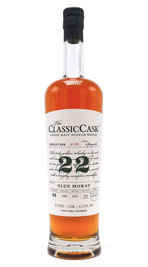 Classic Cask Glen Moray 1994 22 Yr Single Malt