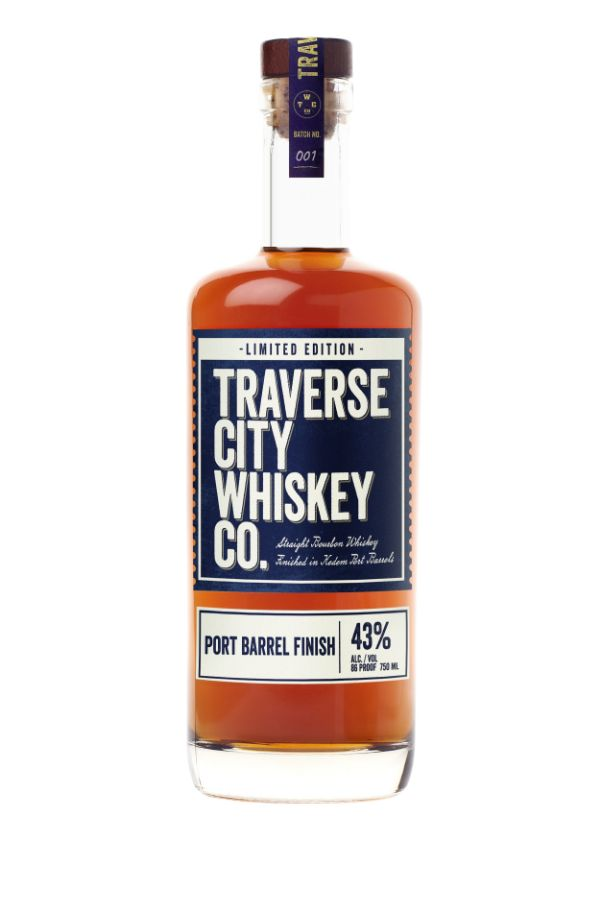 Traverse City Straight Bourbon Port Finished