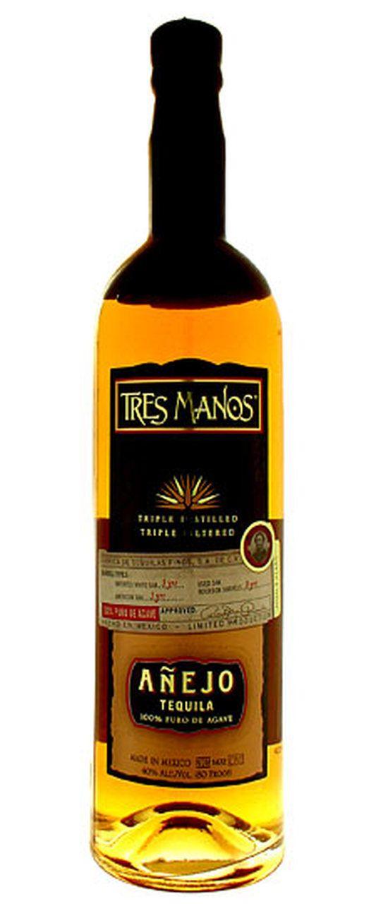 Tres Manos Anejo 3 Yr Tequila