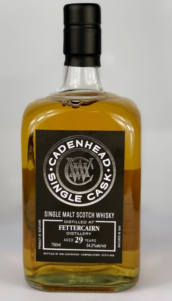 WM Cadenhead Fettercairn 29 Yr Single Malt